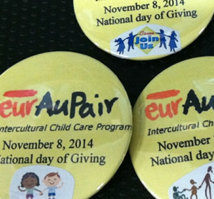 EurAupair's 2014 National Month of Giving