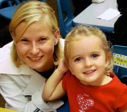 Danish Au Pair Jeannett And Her Host Sister